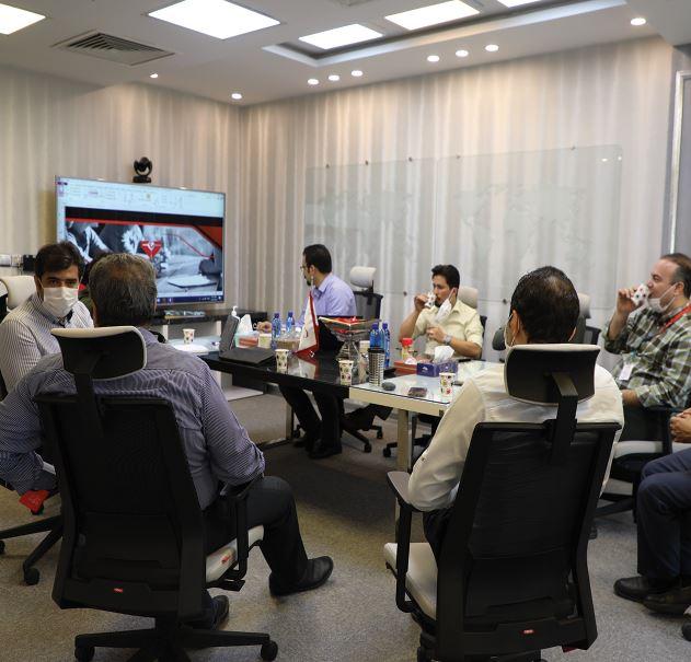 آخرین جلسه کمیته تحول دیجیتال در نیمسال اول سال ۱۳۹۹بهپرداز جهان برگزار شد