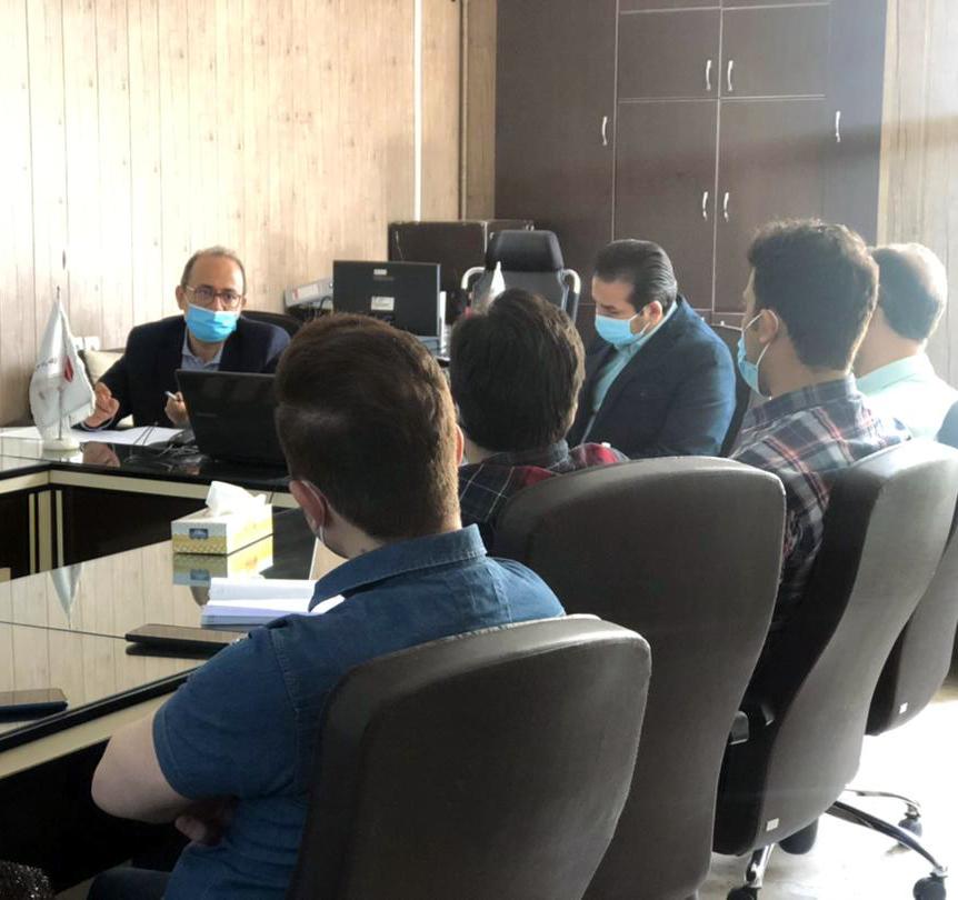 نشست هم اندیشی اعضای تیم پروژه لیمز با رییس هیات مدیره بهپردازجهان